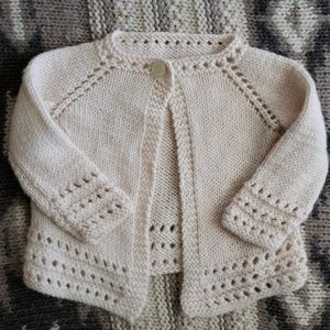 Other - cardigan sweater baby one button